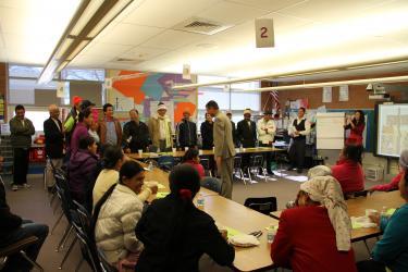 Community organizing efforts
